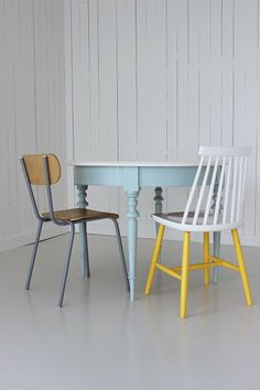 Diy: paint chair, sedia dipinta, by Open House