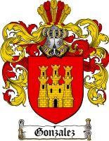 $8.99 Gonzalez Family Crest / Gonzalez Coat of Arms - Download Family Crests