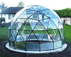geodesic glass dome