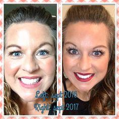 See my progress: Redefine Regime, eye cream, and lash boost! Started Feb 2017