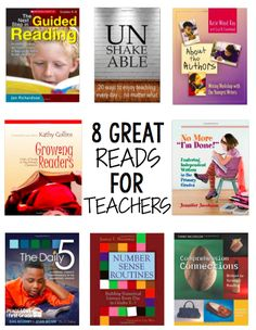 PROFESSIONAL BOOKS FOR TEACHERS-GREAT SUMMER READS