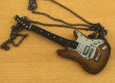 How-To: Polymer Clay Electric Guitar Necklace