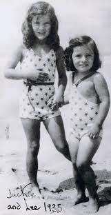 Little Jackie and Lee Bouvier, 1935