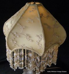 Beautiful victorian lamp with cherub awesome color amazing crystal victorian shade silk beaded fabric victorian lamp shadesvictorian lampsantique aloadofball Choice Image