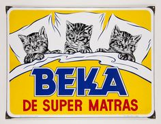 The rich history of Beka® is reflected in this cute sign. #beka