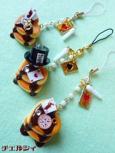 *+チェルシィ+*sweets+*+*+* Alice in Wonderland themed charms