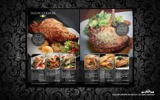 Branch menu and Promoting bunting  Type: Bar and Fine Dining Restaurant Job: Menu and Promotion Bunting Location: PJ Malaysia