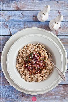 Botwinka do obiadu - dodatek do mięsa, ryb, kaszy, ziemniaków czy ryżu. Przygotowana ze śmietanką lub serem pleśniowym.  http://dorota.in/botwinka-do-obiadu/  #food #kuchnia #przepis #recipe #beetleaves