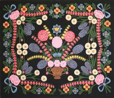 Belarusan Painted Wall Rugs. Беларускія маляваныя дываны