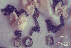 #Vintage #Zoe #Necklace #Love #Handmade