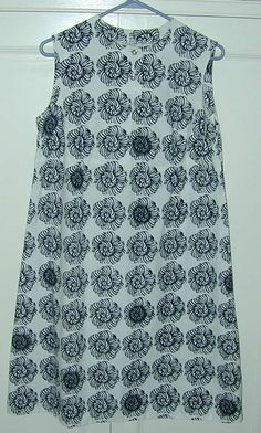 Suomi Finland 40/12 Marimekko Dress for Design Research