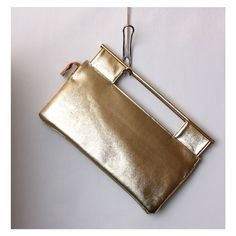 Vintage Studio 54 Large Gold Clutch by BoonieBoutique on Etsy, $28.00