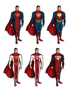Superman redesign.