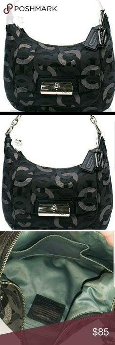 Coach  Kristen Optic Shoulder Bag Has some marks on liner Coach Bags