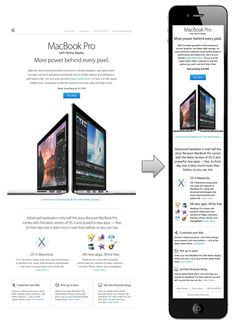 Responsive Email Design from Apple #ResponsiveWebDesign