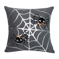 Halloween Spiderweb Decorative Pillow #Kohls