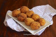 Bombas de pollo y patatas   Comer con poco