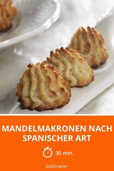 Mandelmakronen nach spanischer Art - smarter - Zeit: 30 Min. | eatsmarter.de