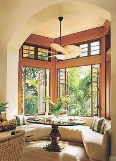 Exotic Interior Tropical Villa in Hawaii | Architecture Design Ideas
