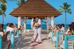 A seaside destination wedding at Secrets Royal Beach in Punta Cana  achangeoflatitude.net