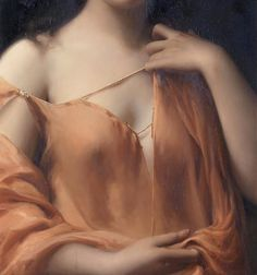 L'arte nel tempo - Art in time- beautiful art. So delicate she just barely holds her shirt up.
