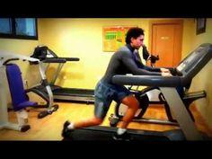 ▶ Parte 2 Training ejercicios sobre una cinta de correr Javier Panizo entrenador coach personal Madrid - YouTube