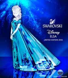 SWAROVSKI DISNEY ELSA LIMITED EDITION 2016