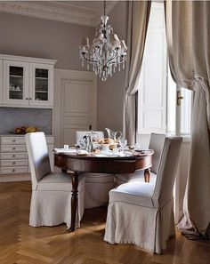 {décor inspiration : linen, leopard print & shades of grey} by {this is glamorous}, via Flickr