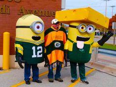 Green Bay Packers Halloween Minions
