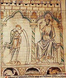 "Geoffrey of Monmouth-- (1100 – 1155) was a Welsh cleric and one of the major figures in the development of British historiography & the popularity of tales of King Arthur. He is best known for his chronicle Historia Regum Britanniae (""History of the Kings of Britain""), which was widely popular in its day and was credited, uncritically, well into the 16th century, being translated into various"
