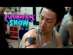 The FUNimation Show - Quickie 6 (I SO want one when I'm older!!! Even though it looks SO VERY painful, I still can't help but want a Fairy Tail mark!!!)