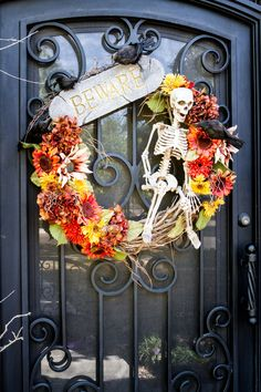 Welcome all, to our Halloween House.  Fun to be had inside!