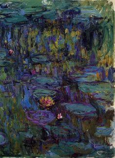 Клод Моне - Water Lilies, 1914-17 08. Клод Оскар Моне