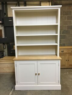 Open rack dressers. CAN BE MADE ANY SIZE OR COLOUR! Cobwebs Furniture Company.