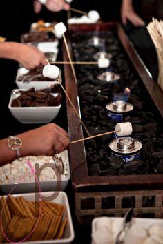 Unique dessert ideas: smores bar
