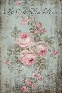 Furniture decals shabby chic french image transfer vintage Antique painted rose home Craft label script crafts scrapbooking card making Diy Decoupage Vintage, Vintage Diy, Vintage Cards, Vintage Images, Decoupage Canvas, Vintage Paper Crafts, Vintage Ideas, Shabby Vintage, Vintage Labels