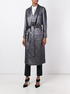 Racil длинное пальто с поясом