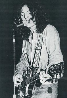 Bruce Springsteen, 1969.