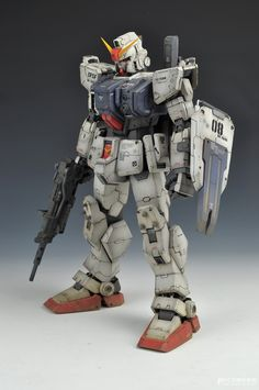 GUNDAM GUY: NeoGrade 1/60 RX-79G Gundam Ground Type - Painted Build