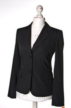 Czarny żakiet #BettyBarclay | #jacket #wzorcownia
