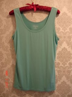 Lord & Taylor  Rayon/Spandex  Sleeveless Top Shirt Size M  | eBay