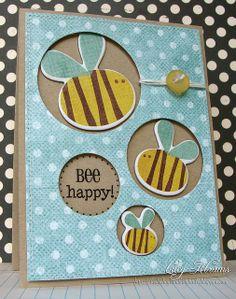 Bee happy....card make it