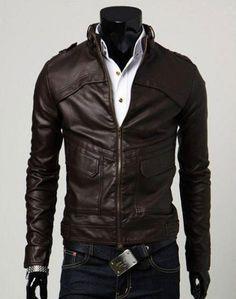 Handmade Men leather Jacket Men biker leather by WalletLeather, $139.00