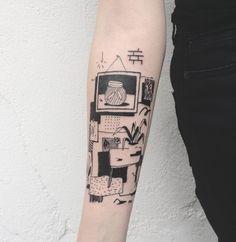 I like the idea of adding snippets of pattern/texture Piercings, Piercing Tattoo, Tatoo Art, Get A Tattoo, Body Art Tattoos, Pretty Tattoos, Beautiful Tattoos, Cool Tattoos, Tatoos