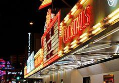 "El Cortez Hotel & Casino ""Cocktails"" in Downtown Las Vegas, Nevada on East Fremont Street."