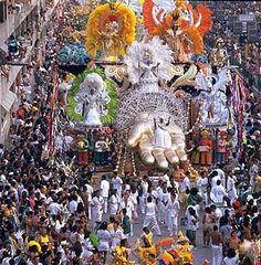 Carnivale in Rio de Janeiro, Brazil...they party all day night! i wanna gooo