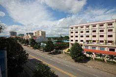 Skyline de Xã Pho Cường - Huyen Đức Pho - Thành Pho Quảng Ngãi