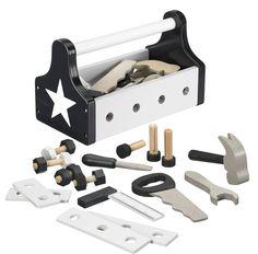 Star wooden tool box