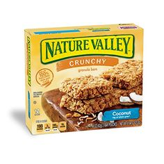 Nature Valley Coconut Crunchy Granola Bars 6 ct Box 149 ounce 2 Bar Pouches * Visit the image link more details. Note:It is affiliate link to Amazon.