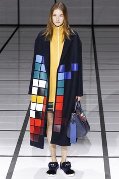 Anya Hindmarch Fall 2016 Ready-to-Wear Fashion Show  http://www.theclosetfeminist.ca/   http://www.vogue.com/fashion-shows/fall-2016-ready-to-wear/anya-hindmarch/slideshow/collection#2